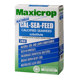 Maxicrop Natural Cal-Sea-Feed Calcified Seaweed Substitute 2kg