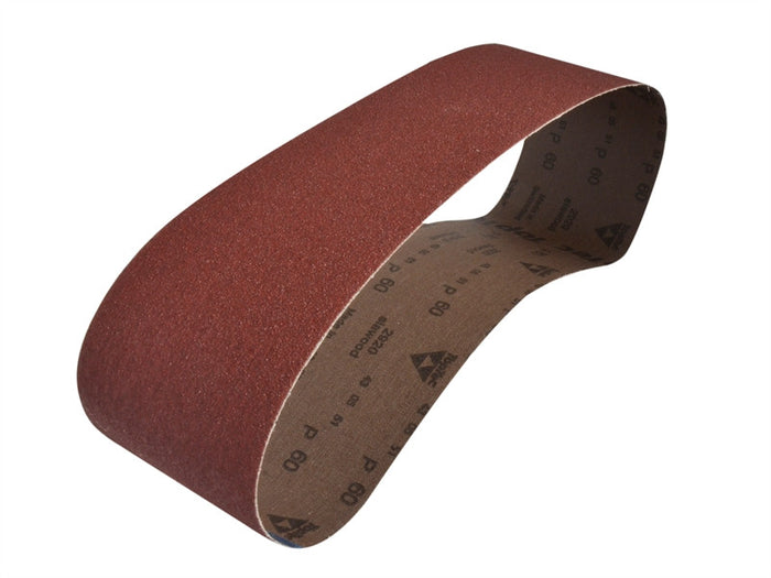 Faithfull Cloth Sanding Belts 915mm X 100mm - Various Grits