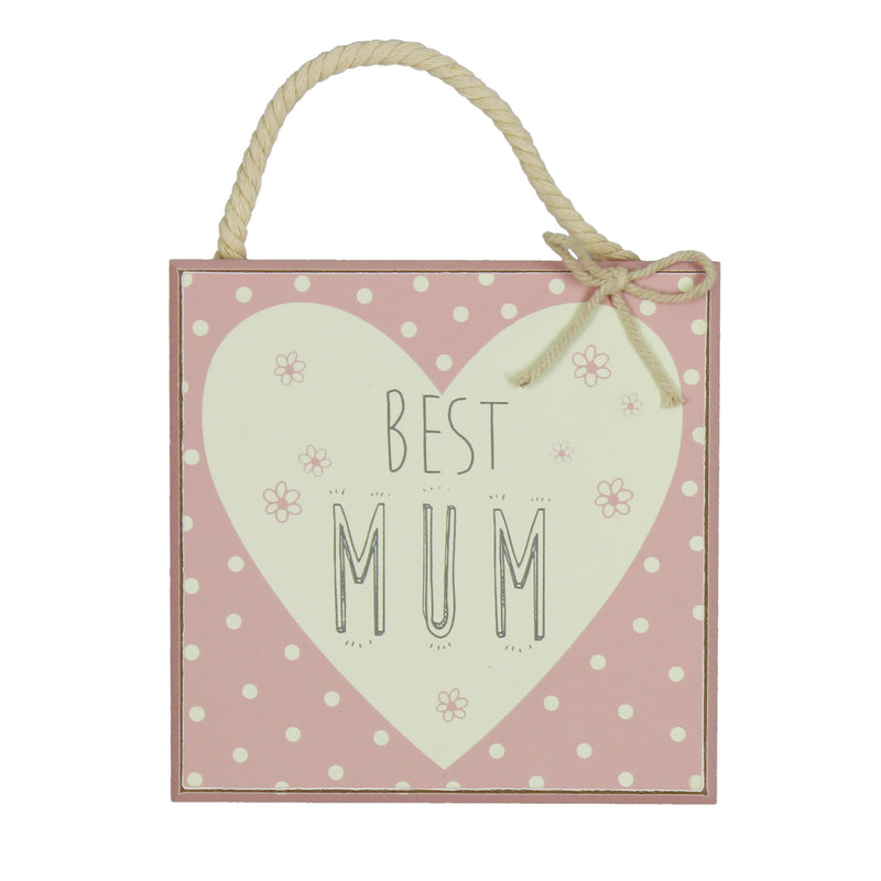 Love Life 61154 Best Mum Plaque