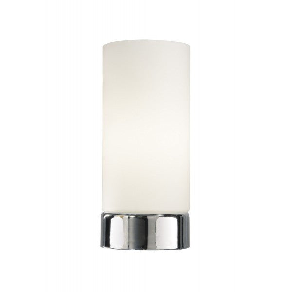 Dar OWE4050 Owen Round Glass Touch Table Lamp