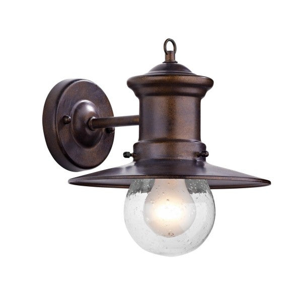 Dar SED1529 Sedgewick 1 Light Lantern Outdoor Down Facing IP44