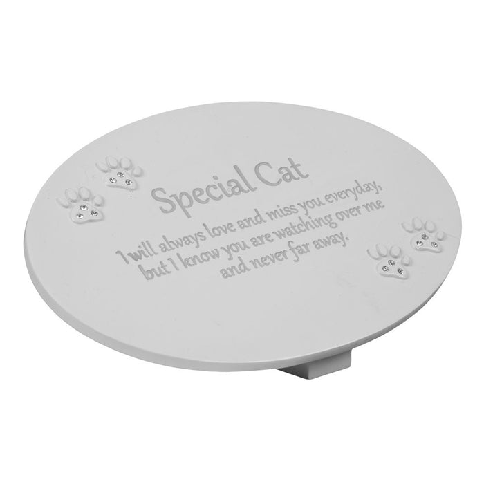 Widdop 62078C Memorial Oval Plaque - Special Cat