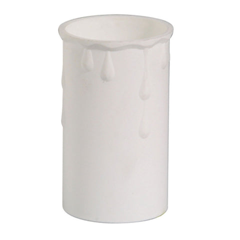 Oaks Drip01WH 37mm x 70mm Candle Drip - White