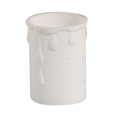 Oaks Drip02WH 33mm x 50mm Candle Drip - White