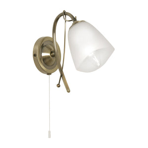 Oaks 4106/1BP Turin Wall Light - Polished Brass