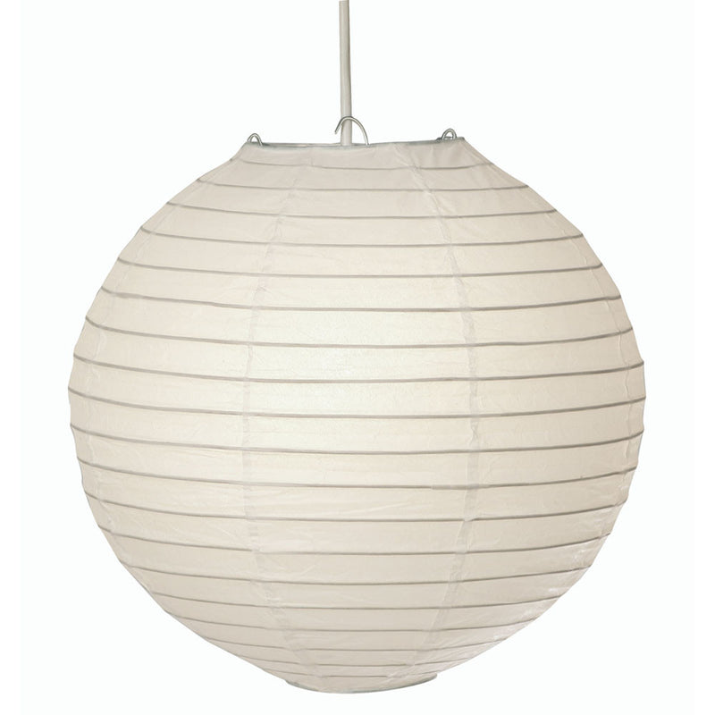 Ceiling lamp shades w hurst son iw ltd oaks 000116 white paper lantern 40cm mozeypictures Image collections