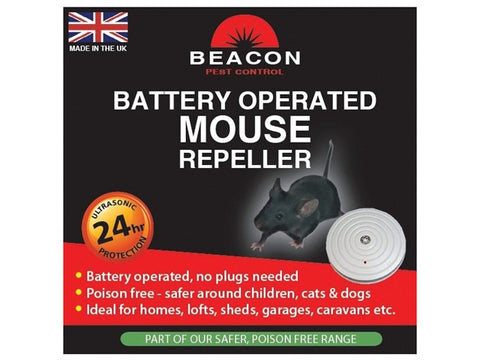 Rentokil FM98 Beacon Mouse Repeller Battery Operated