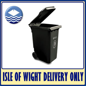 240LTR Black Wheelie Bin / Dustbin