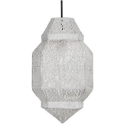 Oaks 5718CG Brompton Pendant Shade Cream / Gold