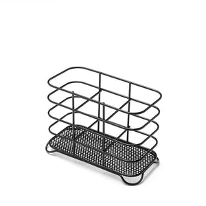 Addis 515634 Wire Cutlery Holder - Black