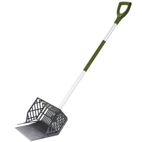 Crest garden 70408002 mulch fork long handled w hurst for Long handled garden fork