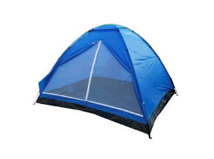 Yellowstone 2 Person Dome Tent Lightweight Camping Blue TT004