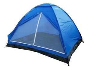 Yellowstone 4 Person Dome Tent Lightweight Camping Blue TT005