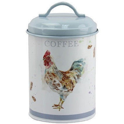 Country Cockerel Coffee Canister / Caddy LP25792