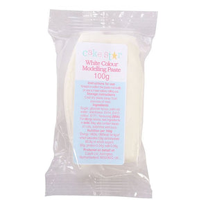 Cake Star 75001 Modelling Paste White 100g