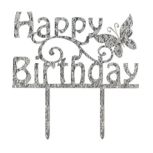 Cake Star 84879 Happy Birthday Cake Topper
