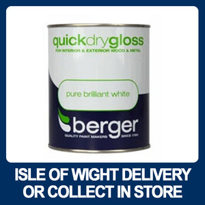 Berger Quick Dry Gloss Pure Brilliant White - 750ml
