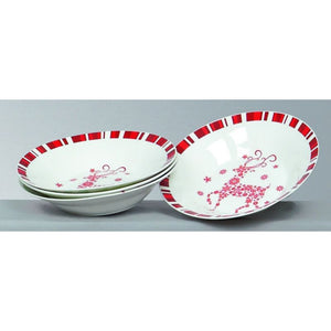 Premier Decorations Set of 4 Christmas Bowls