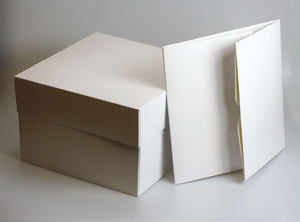 Culpitt White Cake Box - Various Sizes