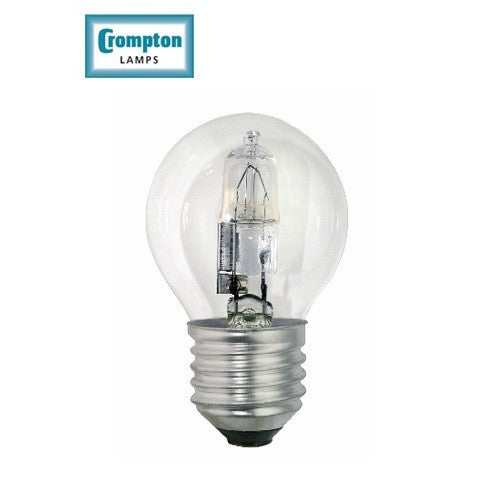 Crompton EROU28CES 28w ES Halogen Classic Golf Ball Clear