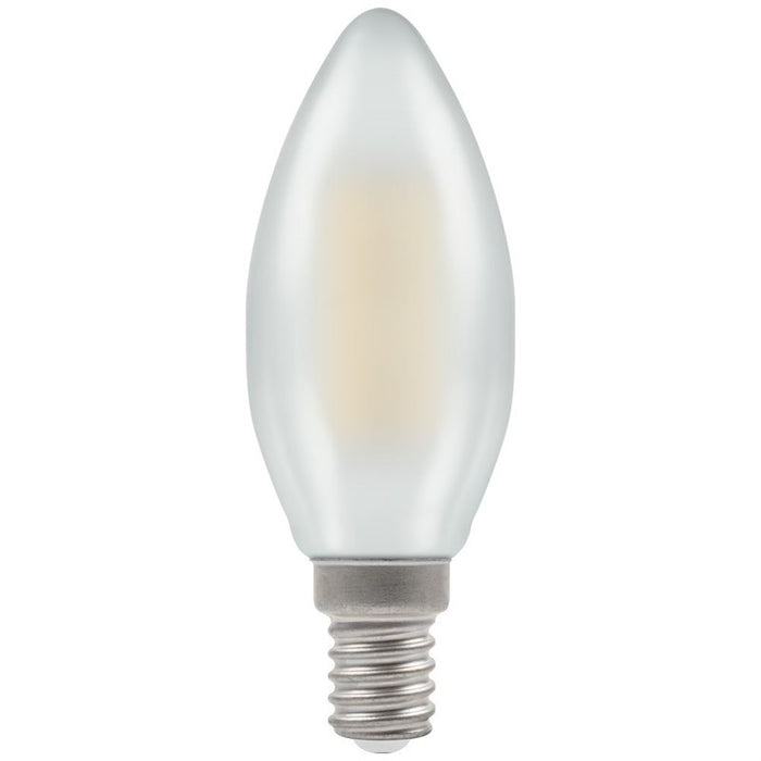Crompton SES Filament Candle 5 Watt Warm White Pearl