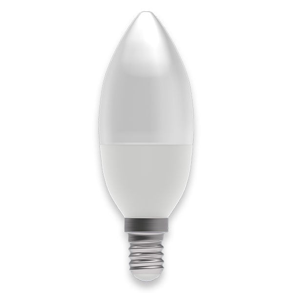Bell 05056 SES Candle 4 Watt Warm White Pearl Lamp