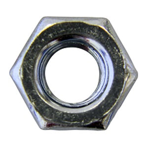 Hex BZP Metric Nuts - Various Sizes
