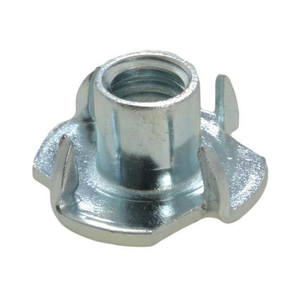 Prong Tee Nuts BZP Metric - Various Sizes
