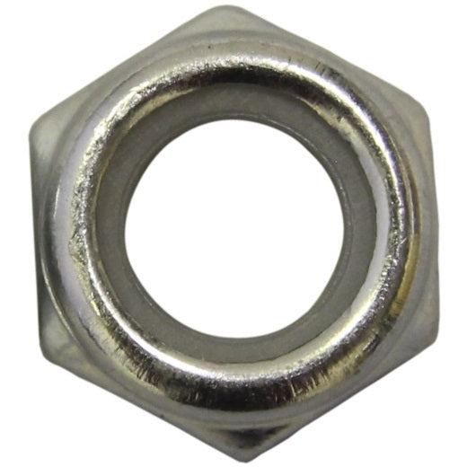 Hex Nyloc BZP Metric Nuts - Various Sizes