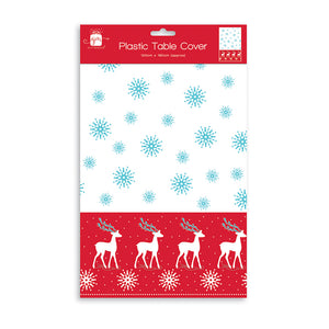 W J Nigh 9DR483 Contemporary Christmas Tablecloth