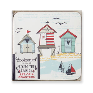 Cooksmart Beside The Seaside Coasters Set - 4Pkt