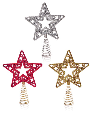 Premier Star Tree Topper - Assorted Colours
