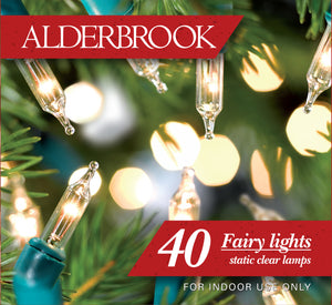 Alderbrook AK543GC Indoor Fairy Light Set 40 Clear