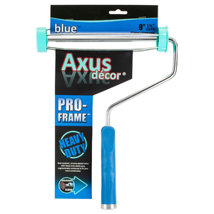 "Axus Decor AXU/RFB9 Blue Series 9"" Pro Roller Frame"