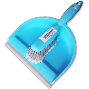 Abbey WPESBU Dustpan & Brush - Blue