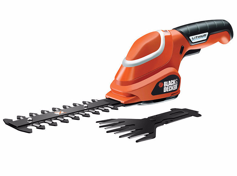 Black & Decker GSL700 Shear Shrubber Kit 7 Volt 1 x 1.5Ah Li-ion