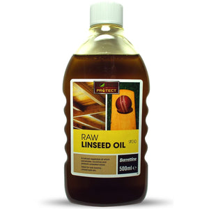 Barrettine OIRL.50 Raw Linseed Oil 500ml