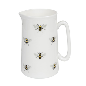 Sophie Allport MJ36M02 Medium 500ml White Jug - Bees