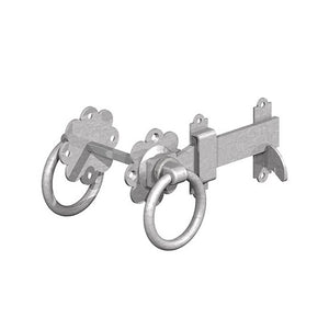 Gatemate 5251501 Ring Gate Latch Heavy Duty Galvanised 6""