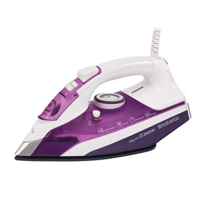 Brabantia BBEL1005 Steam Iron 2400w - PURPLE & WHT