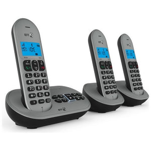 BT BT3580 Trio Digital Cordless Phone with Answer Machine
