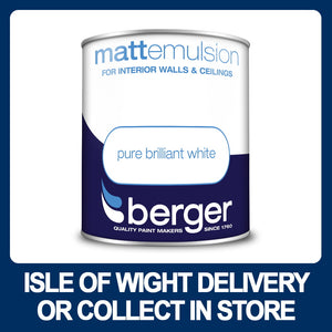 Berger Matt Emulsion 1 Litre - White