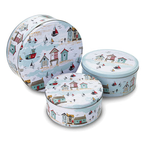 Cooksmart Beside The Seaside Cake Tins - Set of 3