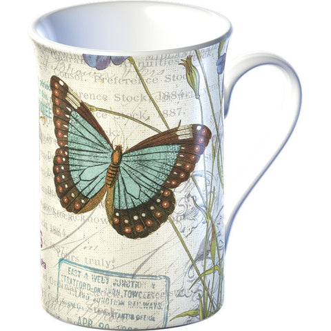 Creative Tops 5136851 Everyday Home Fine China Mug - Butterfly Flair