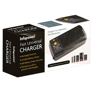 Infapower C012 Fast Universal Battery Charger