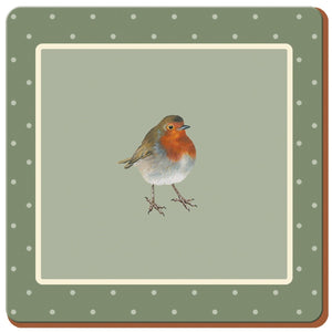 Creative Tops 5187249 Into The Wild Robin Coasters Set Of 6