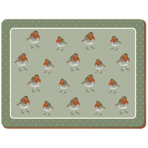 Creative Tops 5187248 Into The Wild Robin Placemats Set Of 6