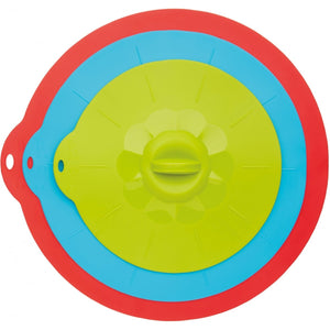Colourworks Silicone Suction Food Covers / Pan Lids (Set of 3)
