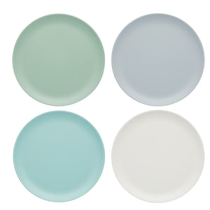 Colourworks CWCLMPLATE9PK4 Melamine Snack Plates - Set of 4