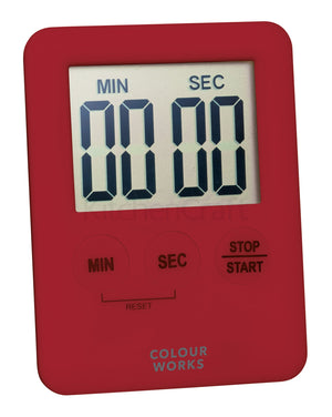 Colourworks CWDIGTIMDISP24 Slimline Easy Read Digital Timer